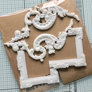 Flourish and Frame Resins [Spring Project]
