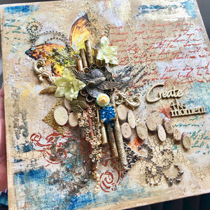 Mixed Media Workshop in Edinburgh - 3rd Nov