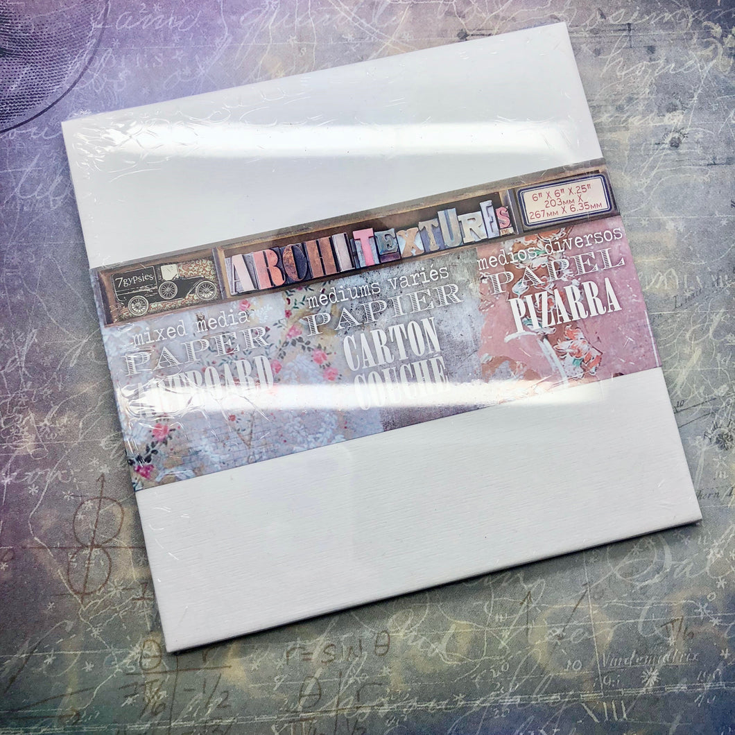 Mixed Media Board by 7Gypsies [Hochanda Brush Kit]