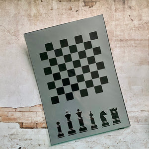 Chess Board Stencil [Kit of the Month]
