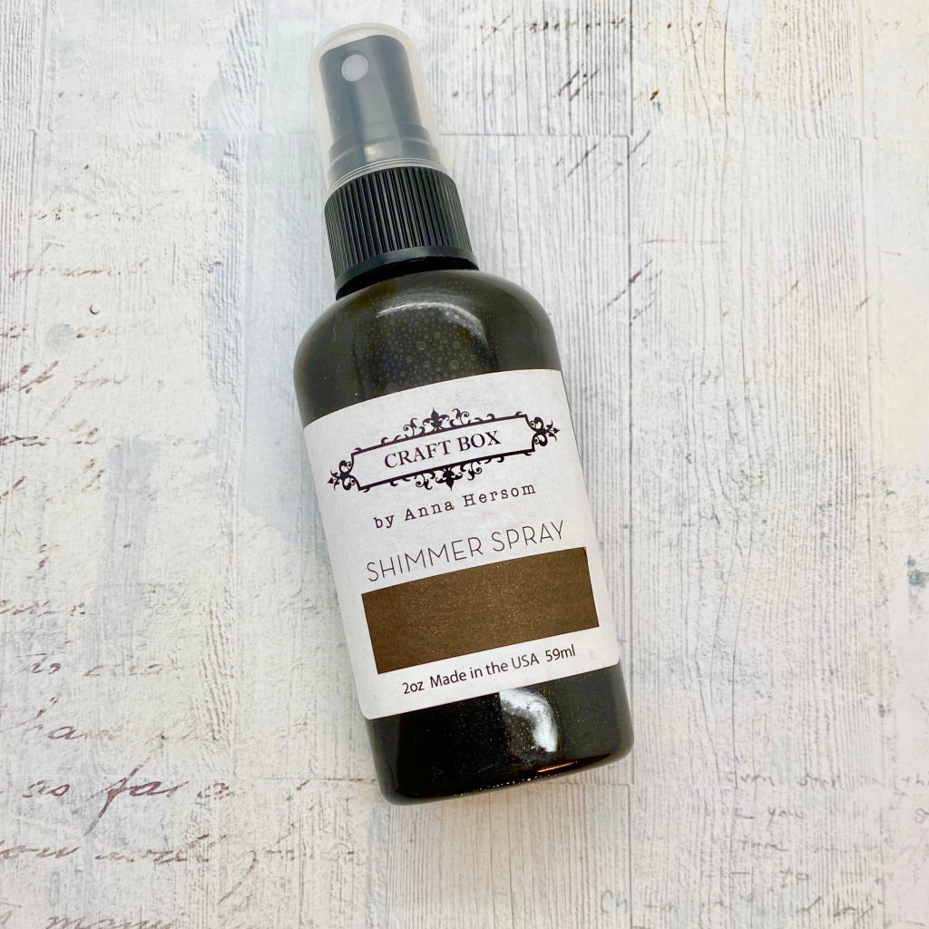 Chocolate Brown Spray MM by Anna Hersom [Wings of Time]