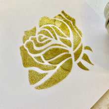 NEW! Lumi Stencil Paste - Gold/Green Glitter - 50ml