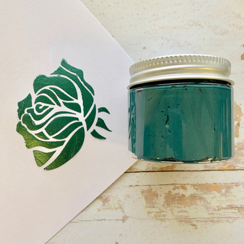 NEW! Lumi Stencil Paste - Forest Green - 50ml