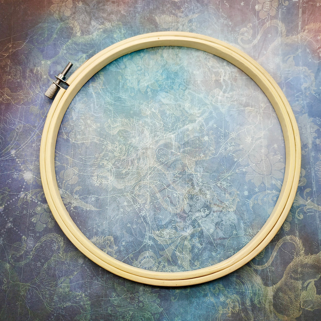 Embroidery Hoop [August Monthly Kit]