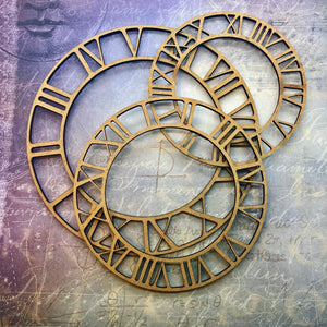 Clock Faces MDF [November Monthly Kit]