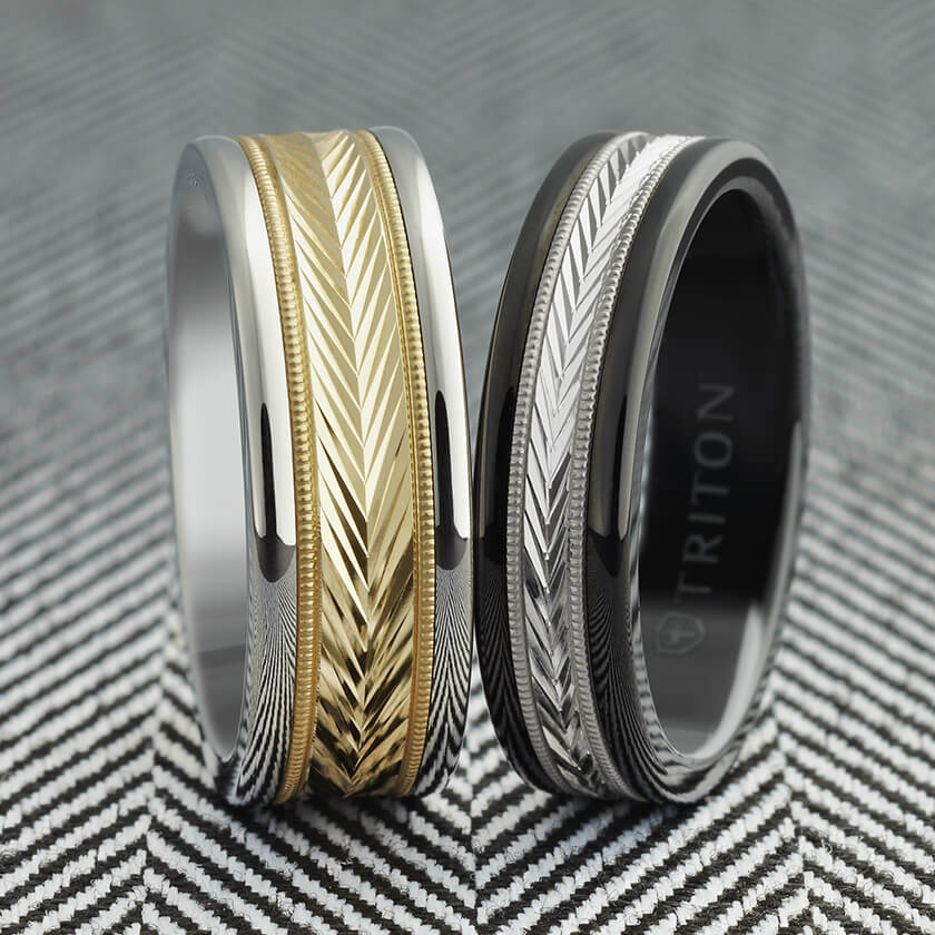 Basic Metals for Men's Wedding Rings