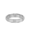 4MM Tungsten Carbide Ring - Bright Finish and Flat Edge