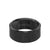 10MM Tungsten Carbide Ring - Satin Center and Bevel Edge