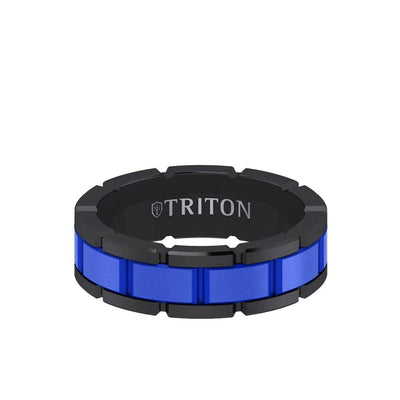 7MM Tungsten Ring - Ceramic T-Link Design Center