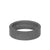 7MM Tungsten Raw Ring - Sandblasted Matte Finish and Flat Edge