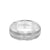 8MM Tungsten Diamond Ring - Brush Bright Finish and Bevel Edge