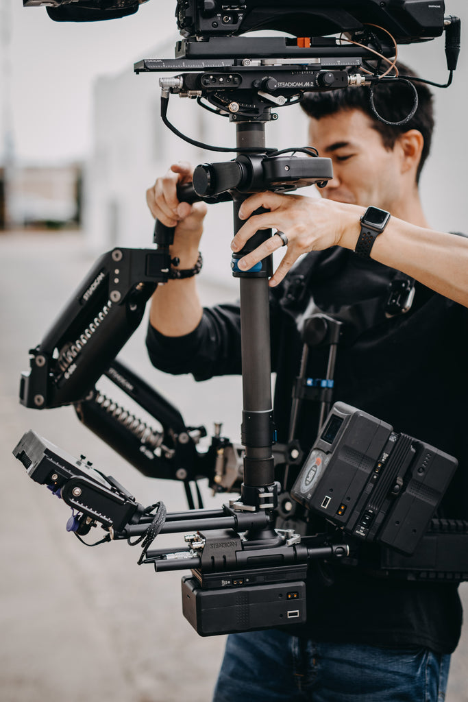 The Tiffen Company Demos Latest Steadicams at Cine Gear Expo