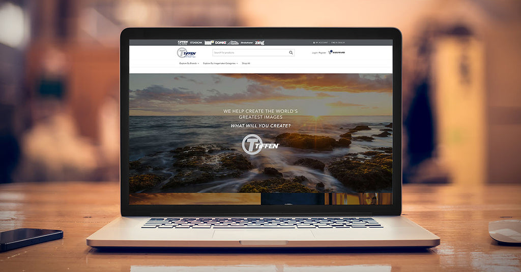 The Tiffen Company Unveils Website Redesign