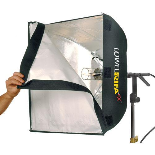Lowel Rifa-Lite EX55 500W Softbox with Lamp - The Tiffen Company