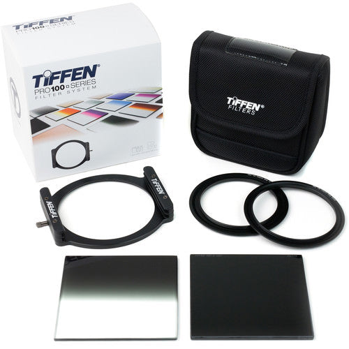 Pro100 with Solid & Soft-Edge Grad Starter Filter Kit - The Tiffen Company