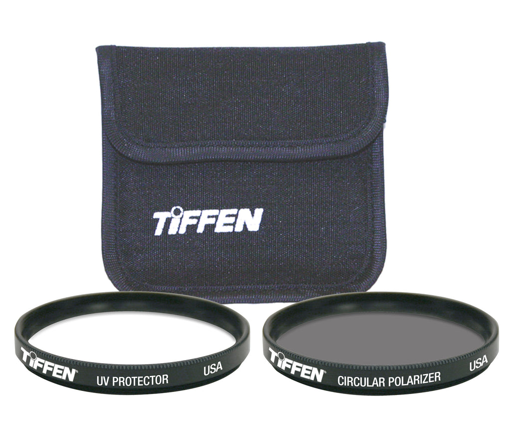Photo Twin Pack (UV Protection & Circular Polarizing Filter) - The Tiffen Company