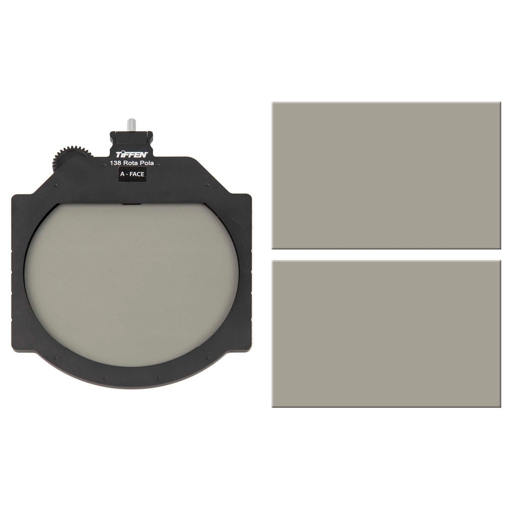 "Tiffen Multi Rota Tray VND Kit with Extra 4 x 5.65"" Circular Polarizer"