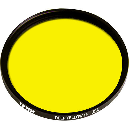Deep Yellow #15 Screw-In Filter