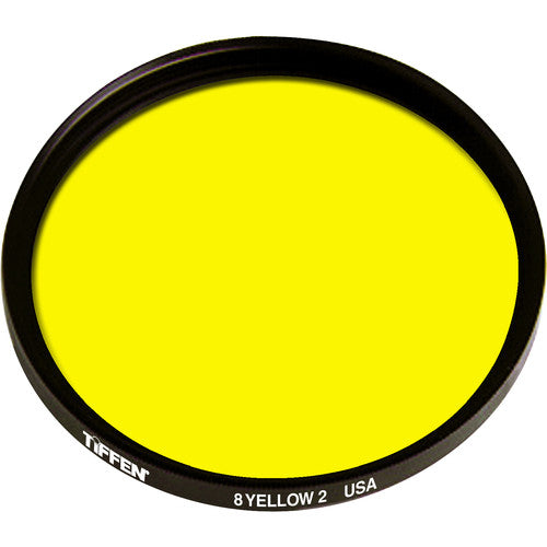 Yellow 2 #8 Screw-In Filter for Black & White