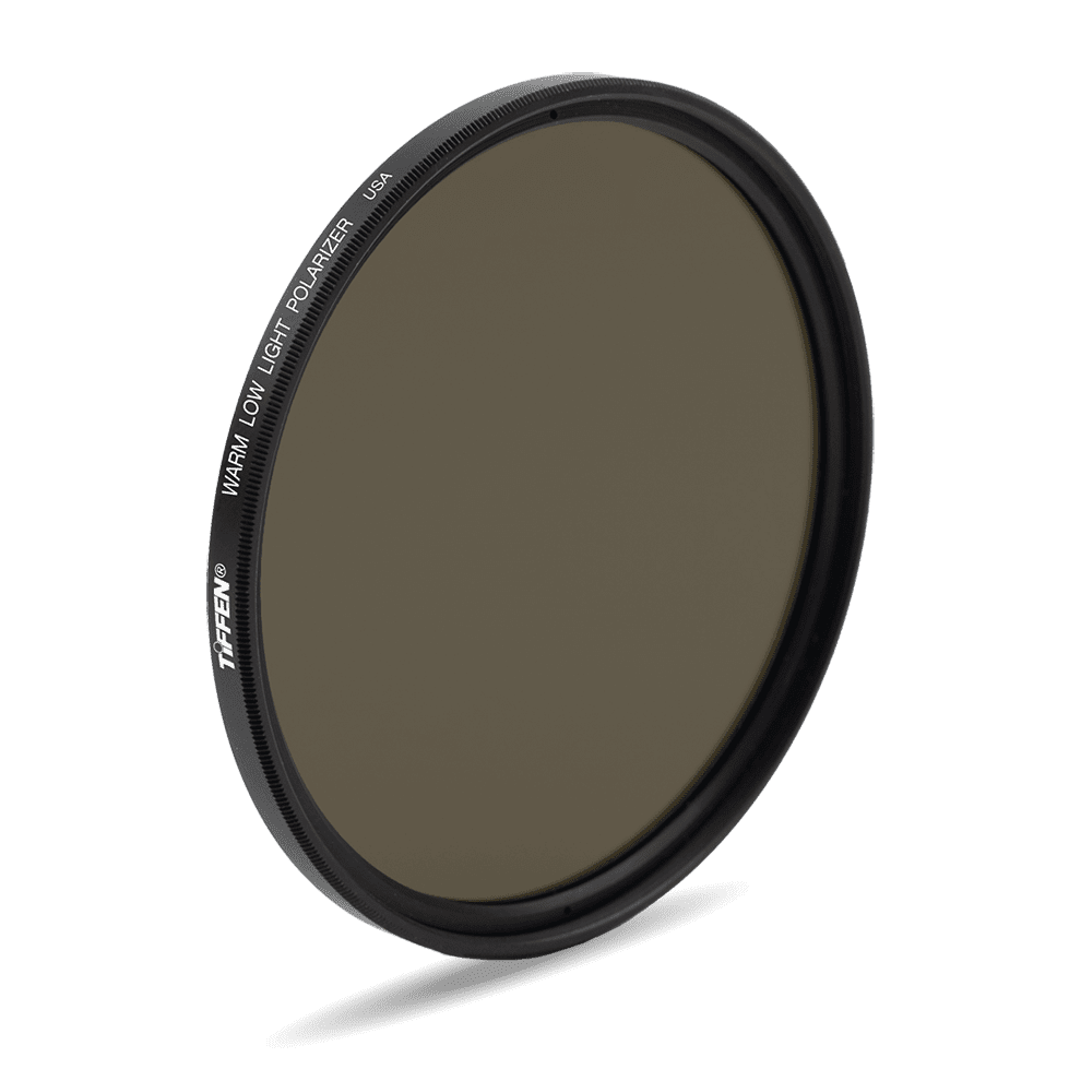 Warm Low Light Polarizer Screw-In Filter - The Tiffen Company