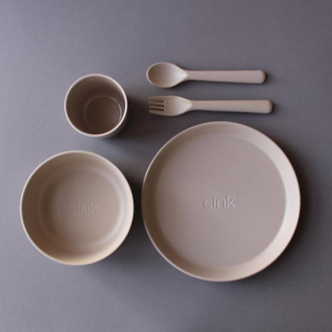 CINK Toddler dishes gift box - Fog, canada,- Minna.ca