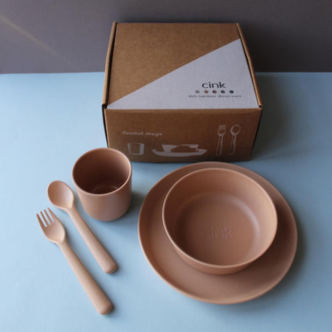 CINK Toddler dishes gift box - Rye, canada,- Minna.ca
