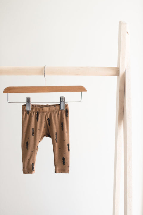 Jax and Lennon Newborn Leggings - Forest, canada,- Minna.ca