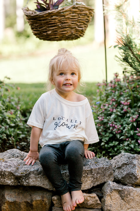 Locally Grown Toddler Tee, canada,- Minna.ca