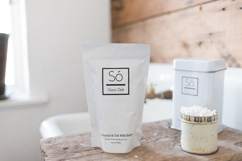 SÓ Luxury CoCo Oat Milk Bath - MÓR (Big), canada,- Minna.ca