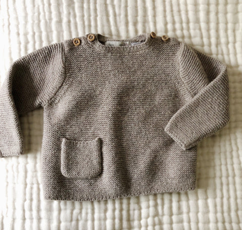 Zara knit sweater 3-6 mos, canada,- Minna.ca