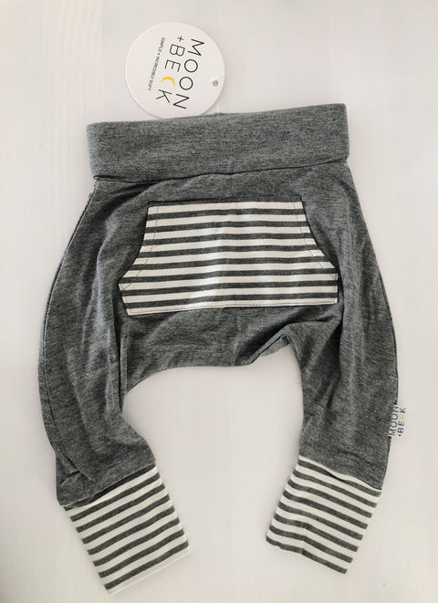 Moon + Beck Harem Bamboo Leggings 3-6 Mos, canada,- Minna.ca