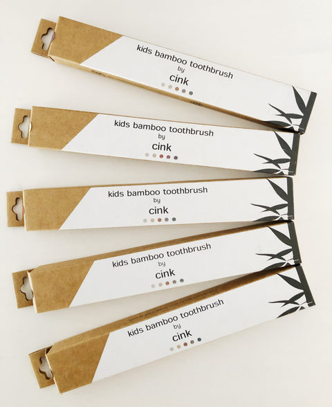 Cink BambooToothbrushes - 5 Pack, canada,- Minna.ca