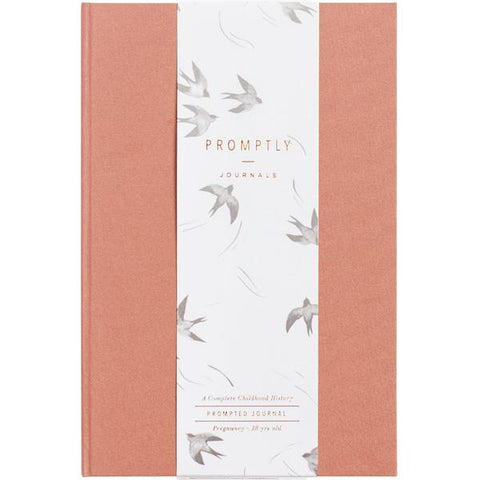 Promptly Childhood Journal - Dusty Rose - Minna Lifestyle Co.