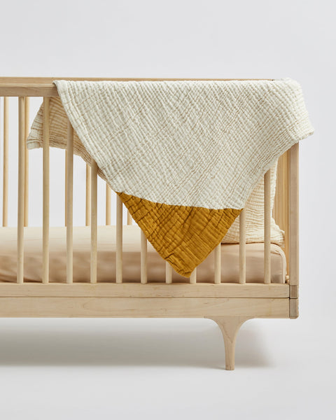 Willaby Geo Baby Blanket - Goldenrod, canada,- Minna.ca