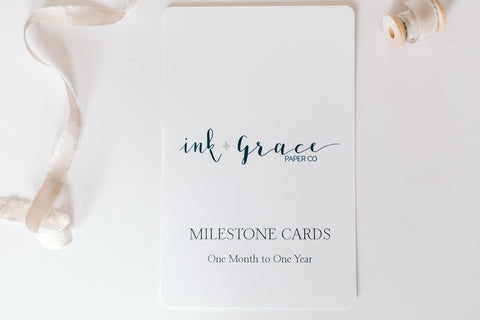 Milestone Cards - Minna Lifestyle Co.