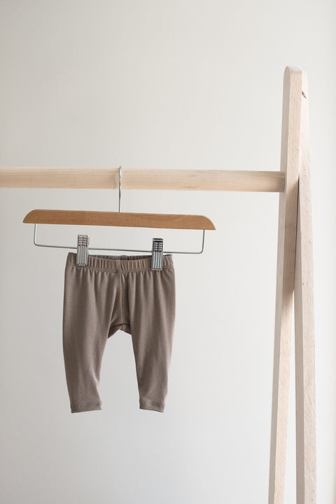 Jax and Lennon Newborn Leggings - Taupe, canada,- Minna.ca