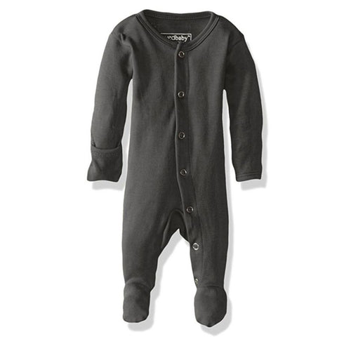 L'oved Baby footed Overall Sleeper - Grey, canada,- Minna.ca