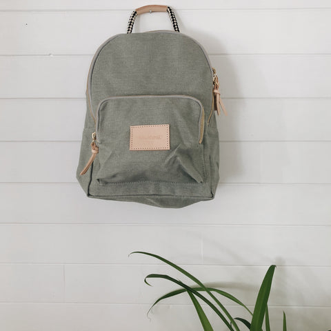 Toddler Backpack - Olive, canada,- Minna.ca