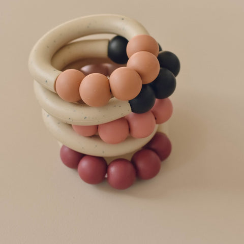 Otherware Chill Teether - Lucite/ Sandstone, canada,- Minna.ca