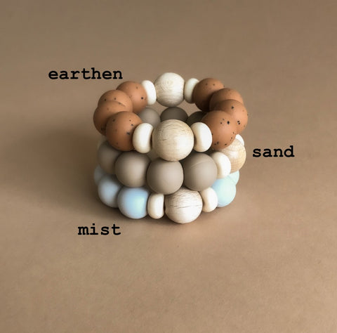 Otherware Clam Shell Soft Toy/ Teether, canada,- Minna.ca