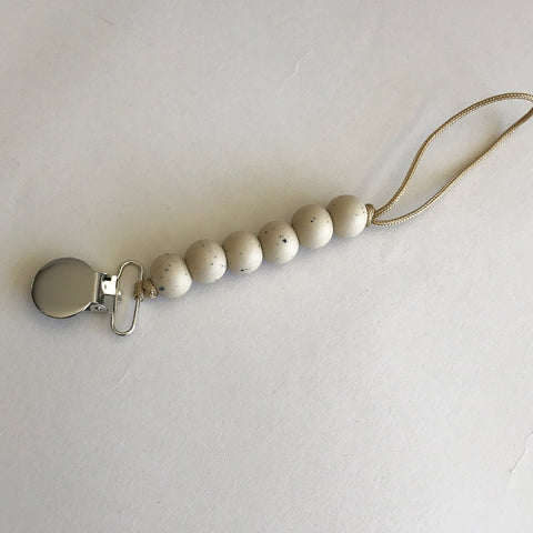 Otherware Pacifier Clip - Sandstone, canada,- Minna.ca