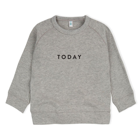 Organic Zoo Grey Sweatshirt - Today LAST ONE size 6-12m, canada,- Minna.ca