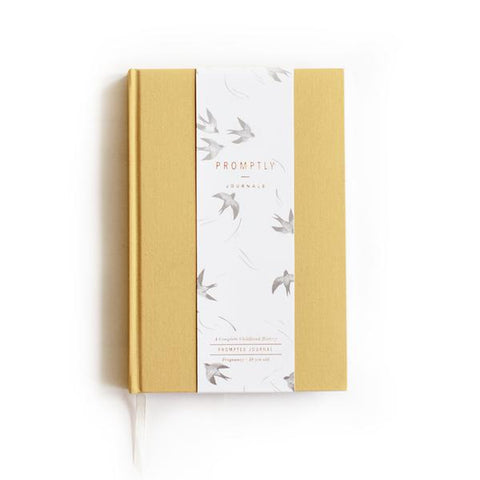 Promptly Childhood Journal - Ochre - Minna Lifestyle Co.