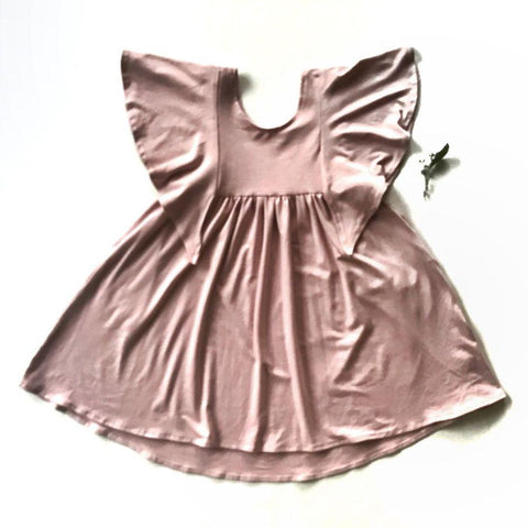 Rose + Doll Tunic Dress - Blush LAST ONE size 4-5T, canada,- Minna.ca