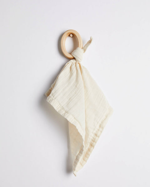 Willaby Teether Blankie - Ivory, canada,- Minna.ca