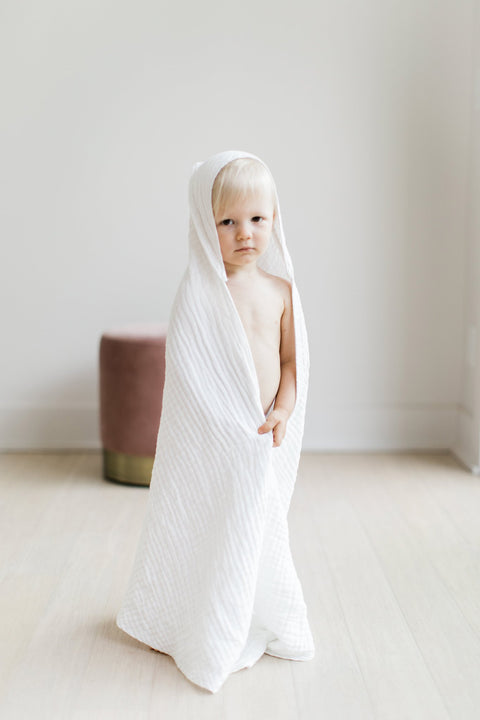 Willaby Hooded Towel - Organic Cotton, canada,- Minna.ca