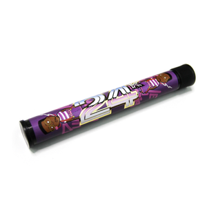 "24k ""Premium Wrapped"" Purple Urkel Pre-Roll Storage"