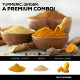 Turmeric Curcumin and Ginger Gummies - 1 Bottle