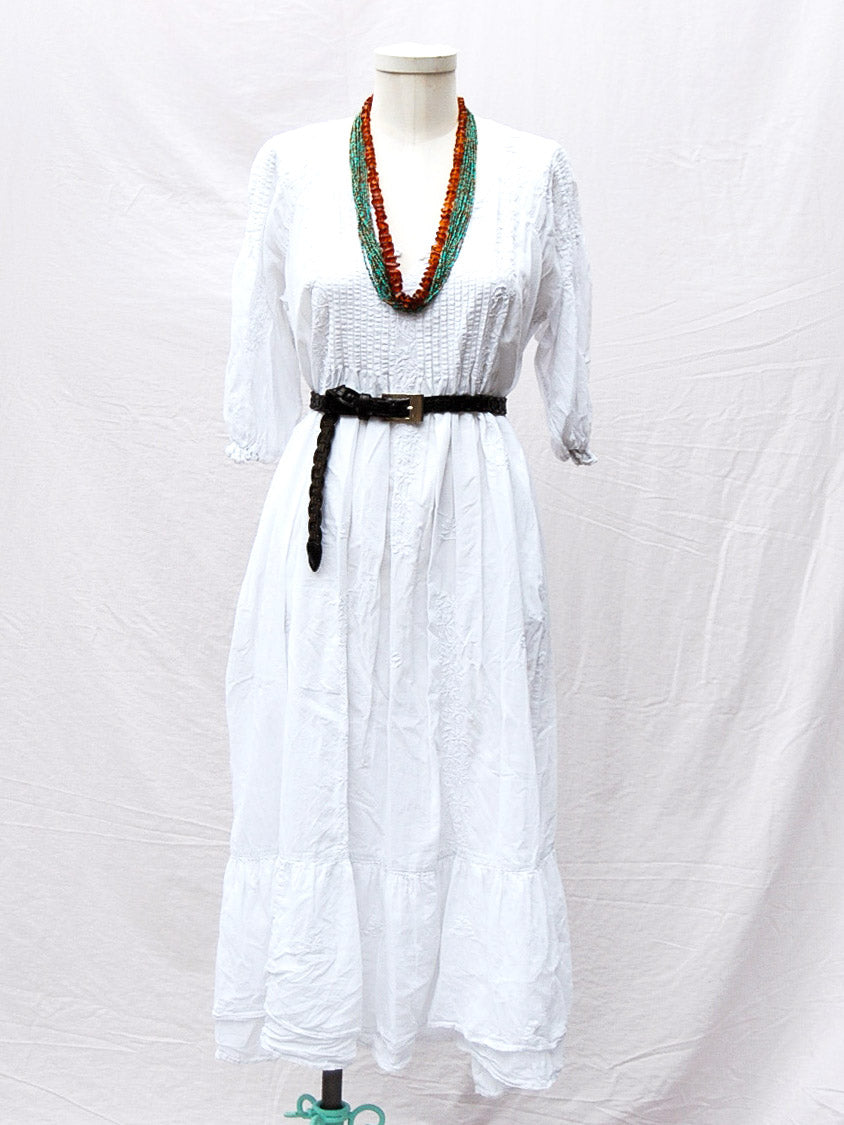 White Gauzy Dress