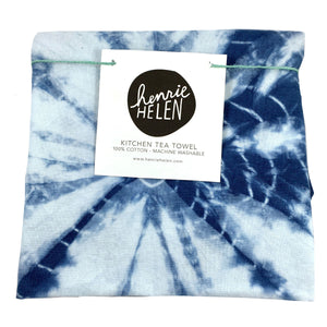 Shibori Tea Towel - No. 1